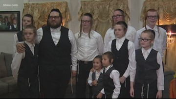 Houston dad adopts 9, still wants more