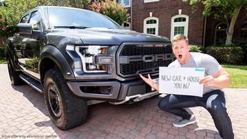 J.J. Watt giving away a Ford Raptor truck, $100K and chance to meet him