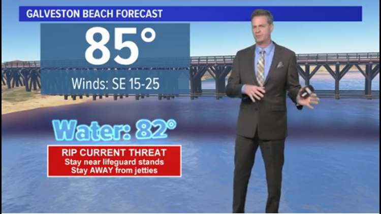 Houston Forecast: Hot, humid and breezy... push repeat through Monday
