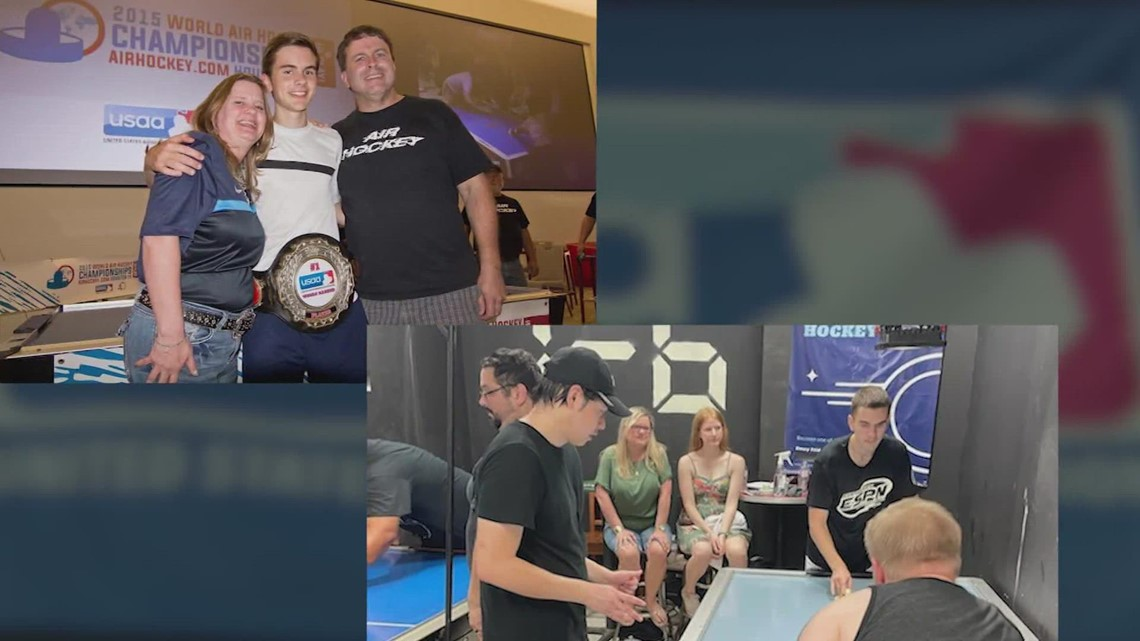 League City father, son headed to Air Hockey World Championship