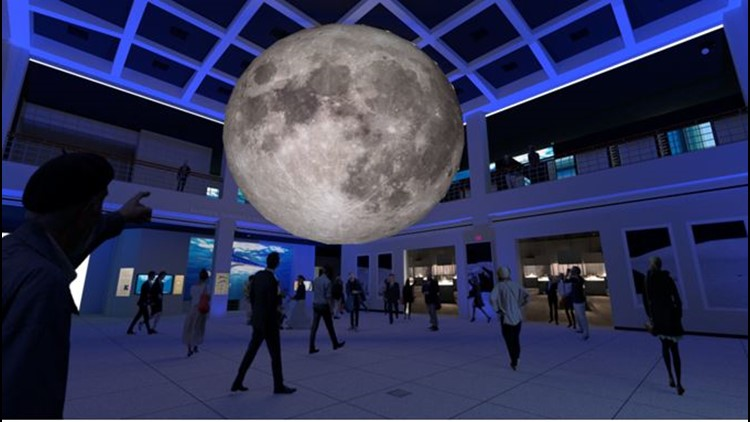 New exhibit at Houston Museum of Natural Science brings new meaning to 'Super Moon'