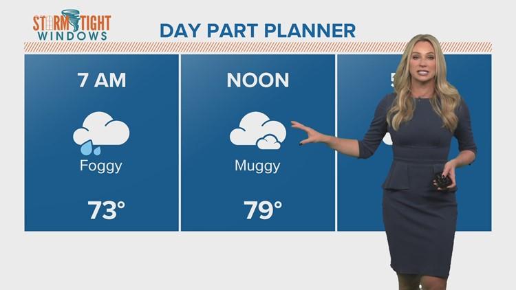 Forecast: Foggy misty start in Houston; tracking Tropical Storm Eta in the Gulf