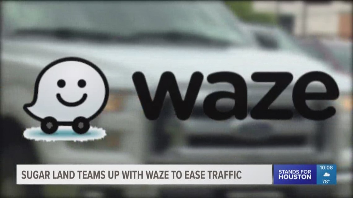 Sugar Land teams up with Waze to ease traffic