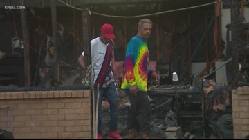 Stands For Houston   Community responds to family who lost everything in house fire