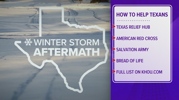How to help Texas residents during the winter storm