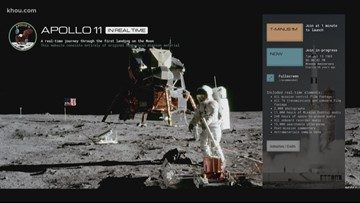 Software developer builds site that shows Apollo 11 mission in real time