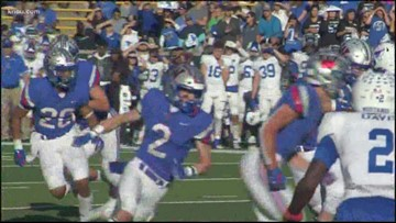 Katy Taylor's playoff run ends with a 63-3 loss to Austin Westlake