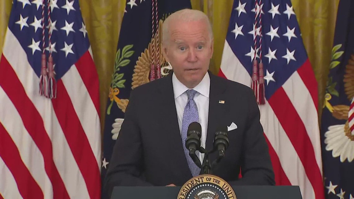 Federal employees union reacts to President Biden's vaccine announcement
