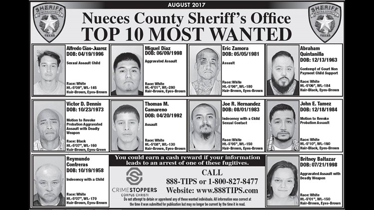Selena Quintanilla's brother one of Nueces County's Most Wanted