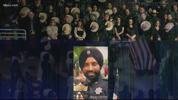 Honoring fallen Deputy Sandeep Dhaliwal