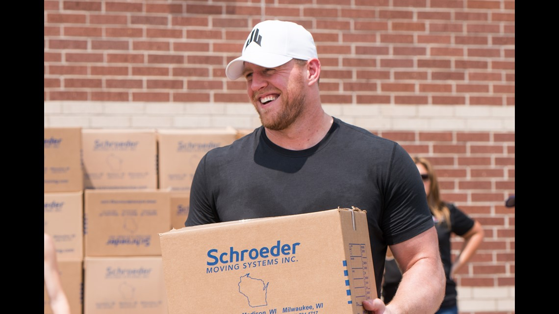 How Much Money Did Jj Watt Give To Hurricane Harvey