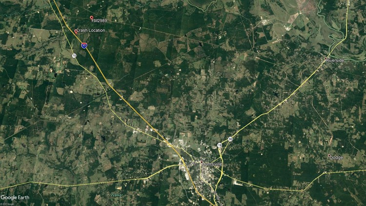 Walker County Crash Map