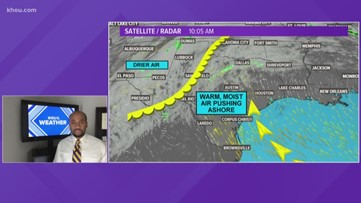 Houston Forecast: One last hot day today!
