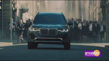 BMW of West Houston showcases the new 7 passenger model X7
