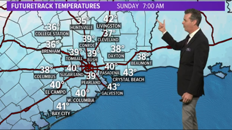 Houston Forecast: Next strong cold front arrives Saturday afternoon