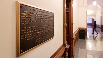 Confederate plaque that says Civil War wasn't over slavery will be removed from Texas Capitol