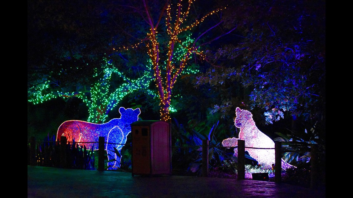 What S New This Year At Houston Zoo Lights Khou Com