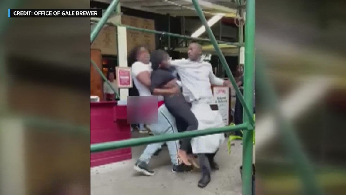 Houston suspect claims innoncence in brawl reportedly over COVID vaccine cards at New York City restaurant