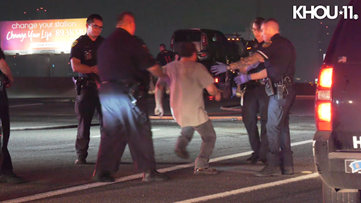 HPD: Suspected drunken driver arrested after wrong-way crash on Southwest Freeway