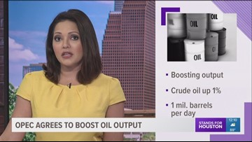 OPEC agrees to increase oil production
