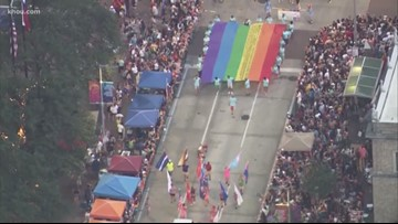 Pride Houston kicks off downtown at Discovery Green