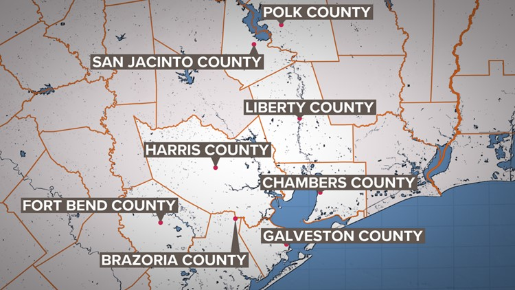 These Houston-area counties have issued stay-at-home orders