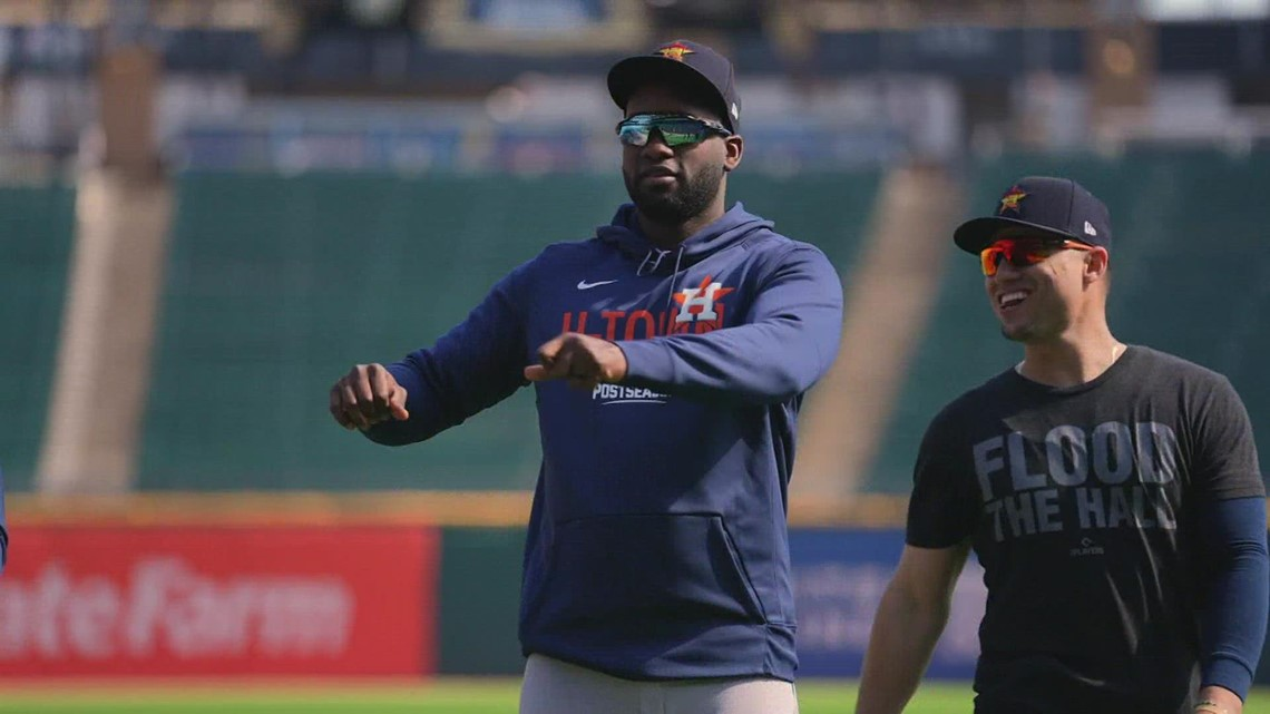 Astros prepare for Game 3 of ALDS against White Sox