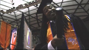 Former Dallas Cowboys standout returns to Sam Houston State for degree 17 years later