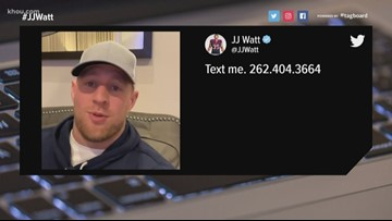Does texting J.J. Watt sign you up for spam texts?
