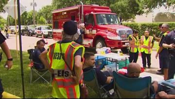 'A behind-the-scenes team': Volunteers step up to help first responders