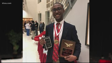 'You can do anything your set your mind to': Kellin McGowan becomes first black valedictorian at St. Thomas HS