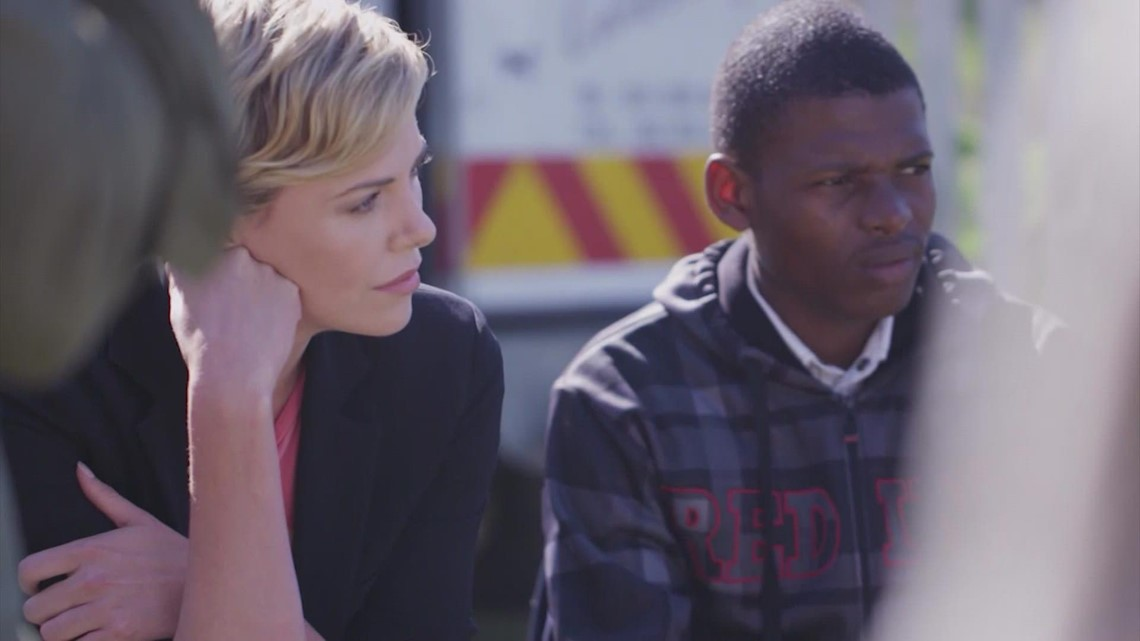 Actress Charlize Theron's outreach program joining the COVID fight in Africa