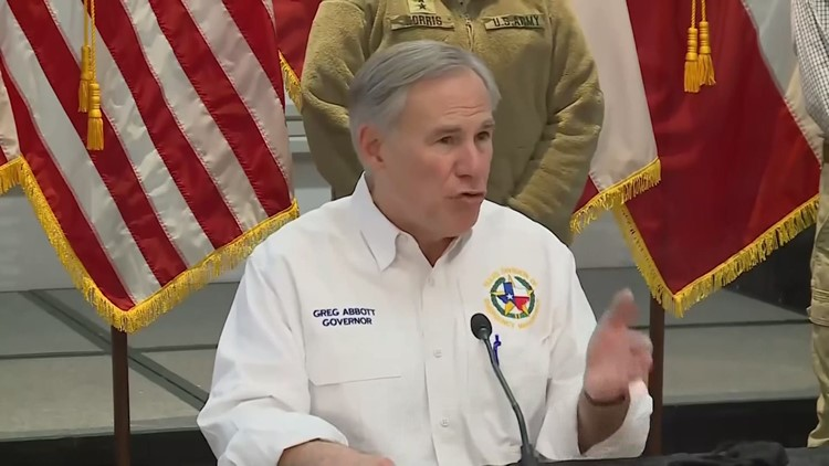 Gov. Abbott lays out 4-part plan to recovery from winter storm in Texas