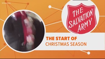 Connect the Dots | Salvation Army kicks off annual holiday campaign