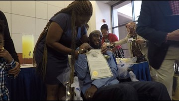 Houston man with terminal brain cancer marries sweetheart in Methodist Hospital chapel