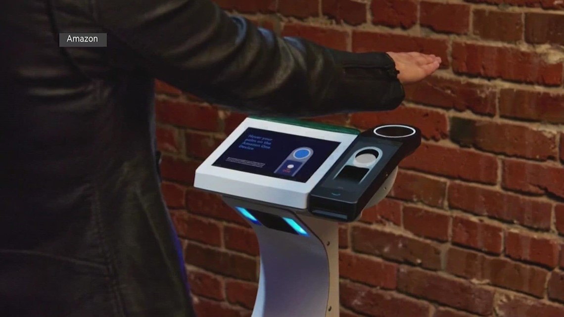 Pay with your palm | New Amazon tool uses hand scans as payments