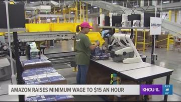 Amazon raising minimum wage to $15 an hour