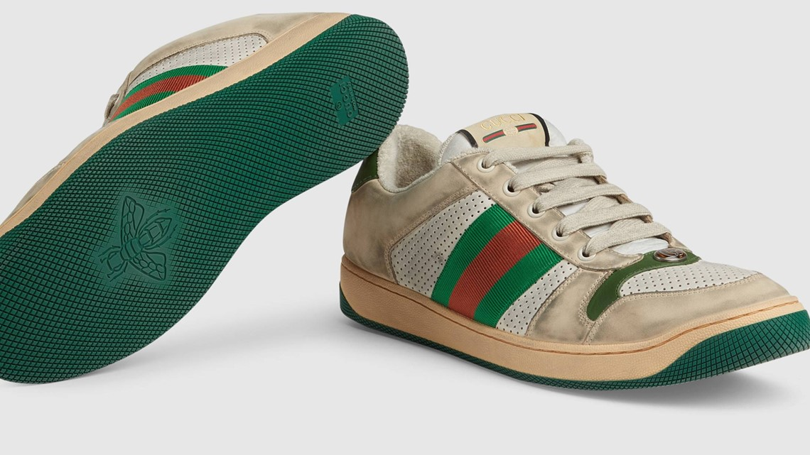 4bb08b6a0cd Gucci s  870 dirty sneakers come with cleaning instructions