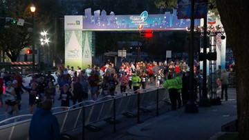 Runners brave the cold to take on Chevron Houston Marathon and Aramco Half Marathon