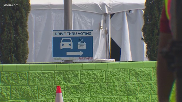 Harris County's drive-thru votes will not be thrown out, federal judge rules
