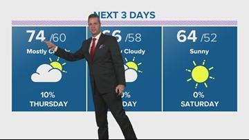 Houston weather radar forecast update 7 pm