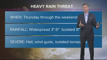 Threat of flooding later this week