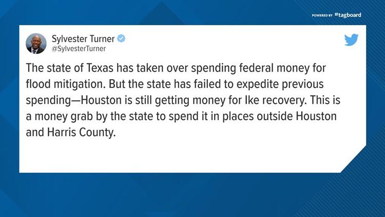 Sylvester Turner Tweet