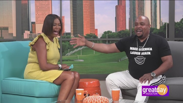 Comedian Arnez J stops by Great Day before hitting the Houston Improv