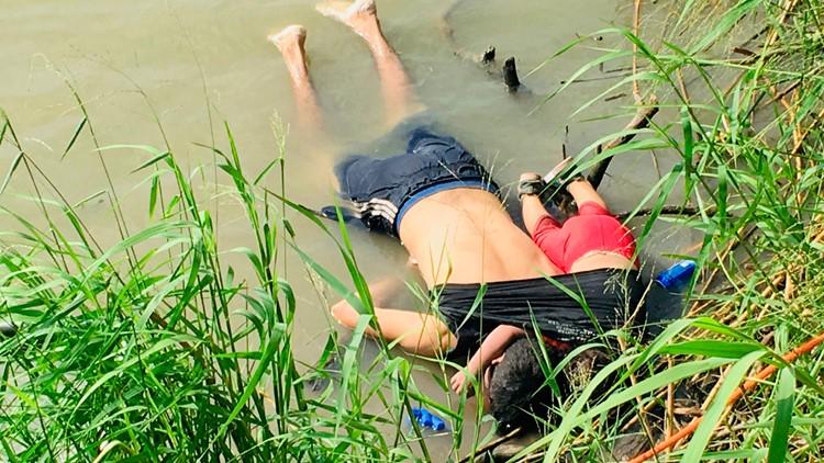 Father, daughter from El Salvador drown in the Rio Grande