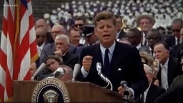 JFK's inspiring speech before Apollo 11 made in Space City