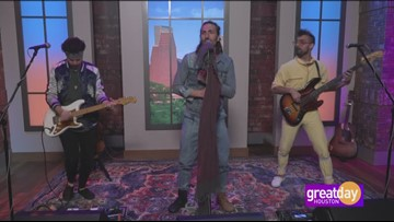 "Alt-rock hit-makers Magic Giant perform ""Disaster Party"" before appearing on Good Morning America"