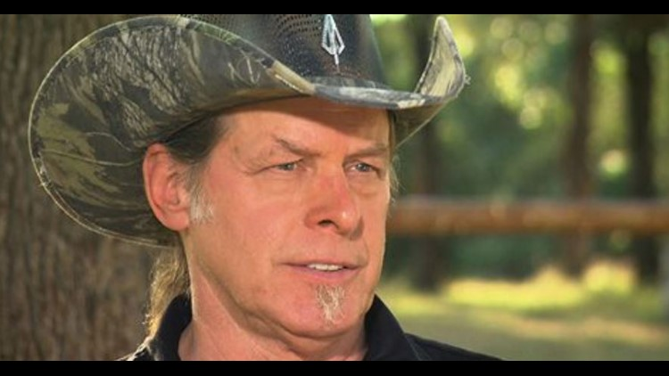 Ted Nugent Says a Florida School Shooting Survivor Is 'Brainwashed'