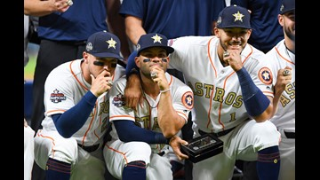 Astros receive their well-deserved World Series rings in pregame ceremony