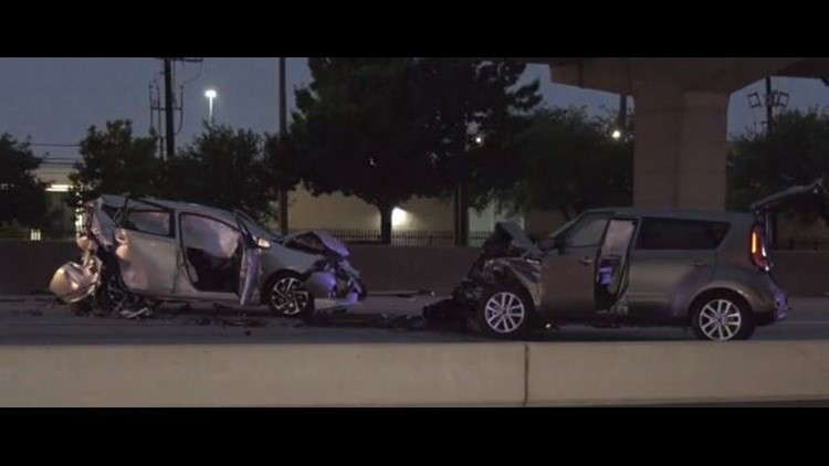 1 killed in crash on North Freeway at Beltway 8 | khou com